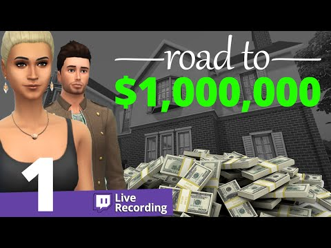 The Sims 4 - Road to $1,000,000 - Part 1