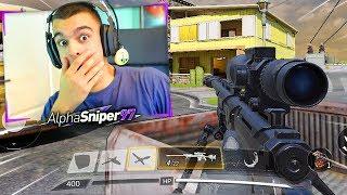 USO EL SNIPER MEJORADO en Call Of Duty MOBILE *NUEVO COD GRATIS* - AlphaSniper97
