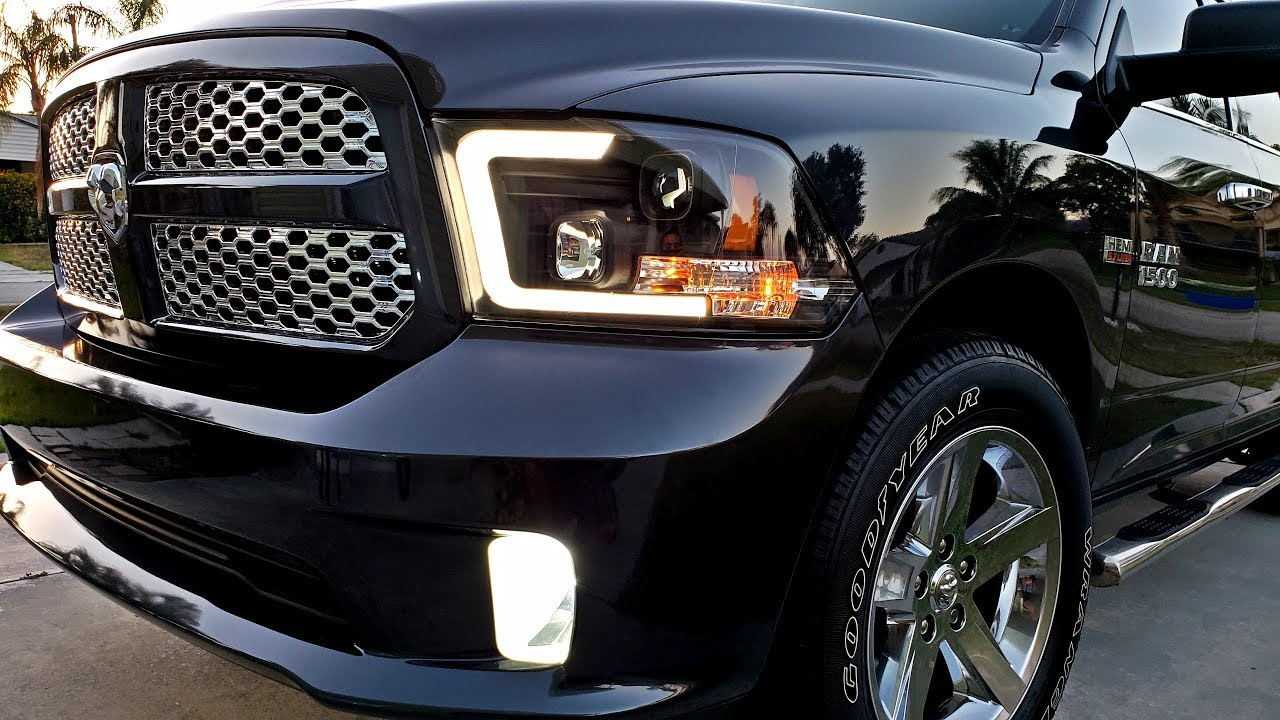 New 2018 Oled Headlights Taillights For Your Ram 1500 09 18