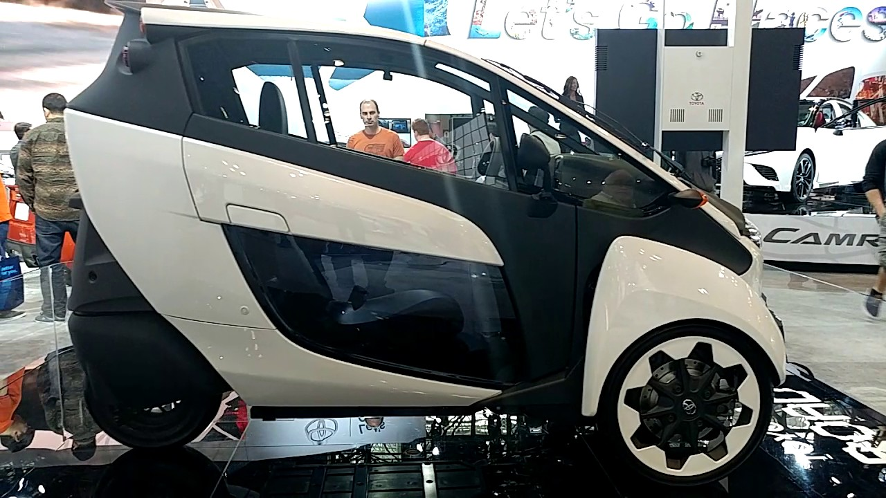 2017 Toyota I Road 3 Wheel Car New York International Auto Show
