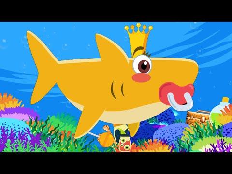 Мультики для детей малышей - Акуленок (Беби Шарк - Я акула) - Веселые детские песни и танец