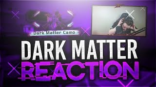 "UNLOCKING DARK MATTER! *LIVE* ""DARK MATTER CAMO"" REACTION! (Black Ops 3 DARK MATTER REACTION)"