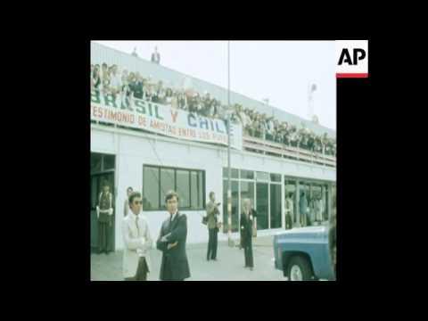 UNUSED 12 10 80 BRAZILIAN PRESIDENT JOAO FIGUEIREDO VISIT TO CHILE