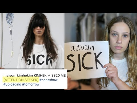 Runway Models with IV poles for ATTENTION-SEEKING message