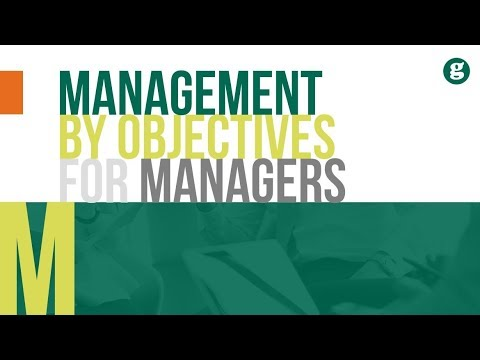 Management by Objectives for Managers