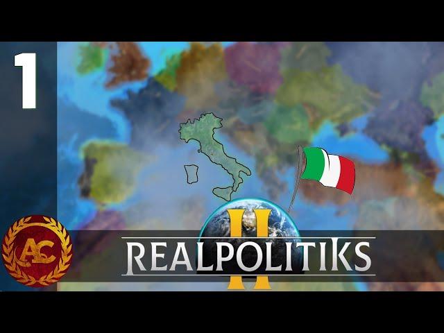 L'ITALIA NEL 2021 || #1 - GEOPOLITICA CON MARADONA || REALPOLITIKS II GAMEPLAY ITA