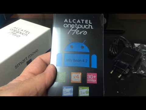 ALCATEL ONE TOUCH HERO 8020X Unboxing Video - CELLPHONE in Stock at www.welectronics.com