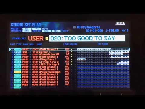 Roland Fa 06 - Too Good Say Goodbye