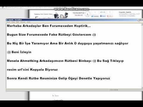 Forumexe Fake Rütbe