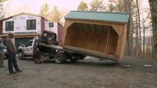 How To Move A Shed Delivery