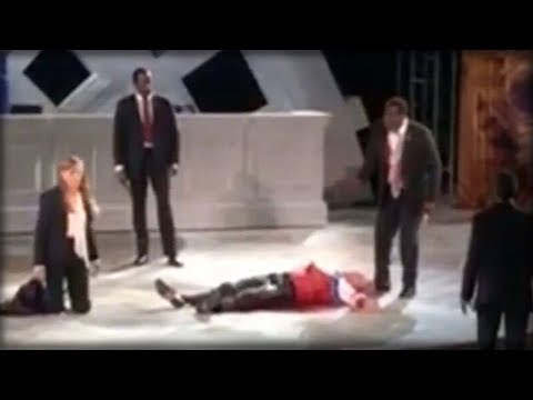 ACTION ALERT: THEATER COMPANY KILLS TRUMP ONSTAGE, IMMEDIATELY GETS HIT WITH THE ULTIMATE KARMA