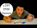 Three DIY Fun Games to try at home 2017