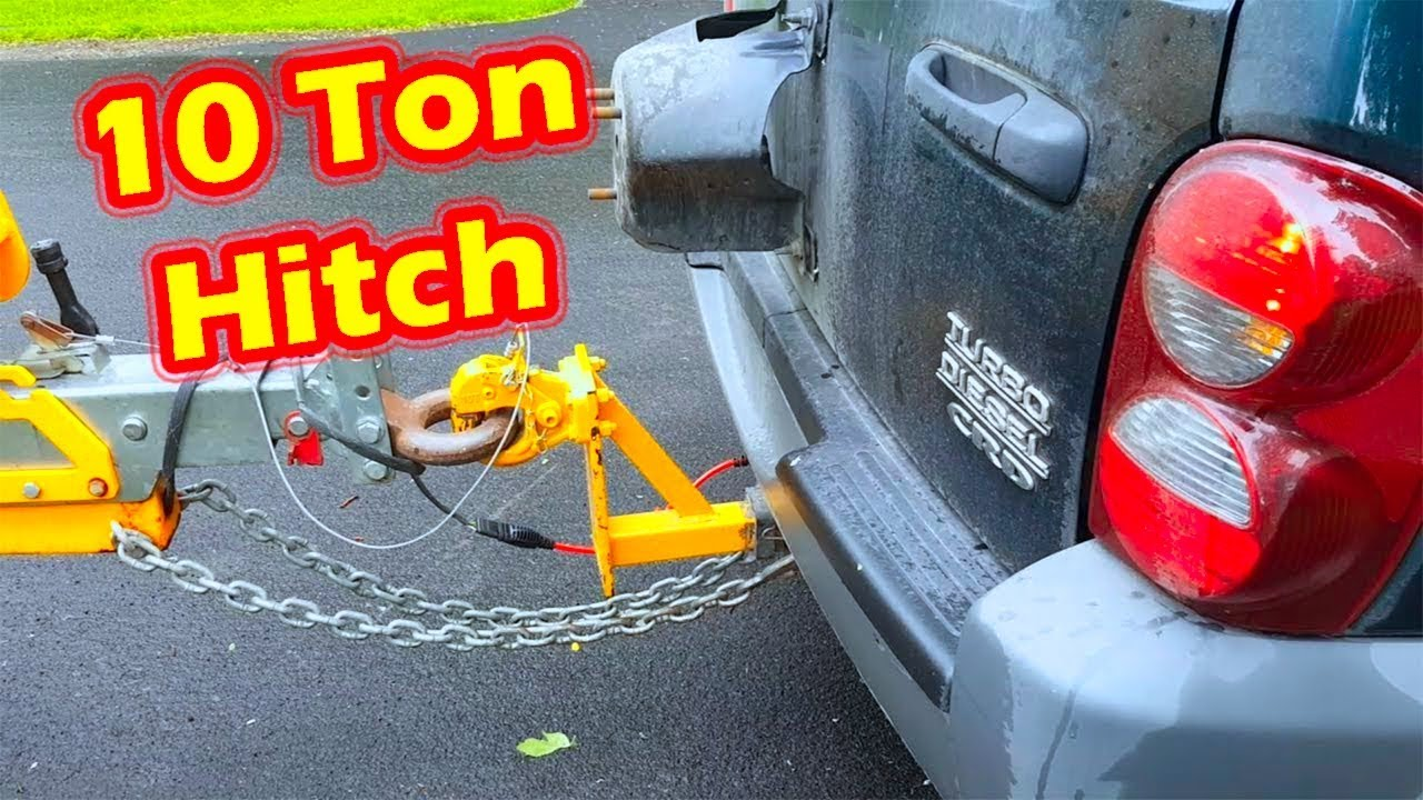 Jeep Liberty Crd Turbo Diesel Tow Review Youtube