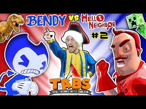Thumbnail: HELLO NEIGHBOR BEDTIME STORY Pt 2: TABS COMPETITION - BENDYS vs. MART w/ MINECRAFT (FGTEEV:THE END)