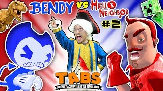 HELLO NEIGHBOR BEDTIME STORY Pt 2: TABS COMPETITION - BENDYS vs. MART w/ MINECRAFT (FGTEEV:THE END) thumbnail
