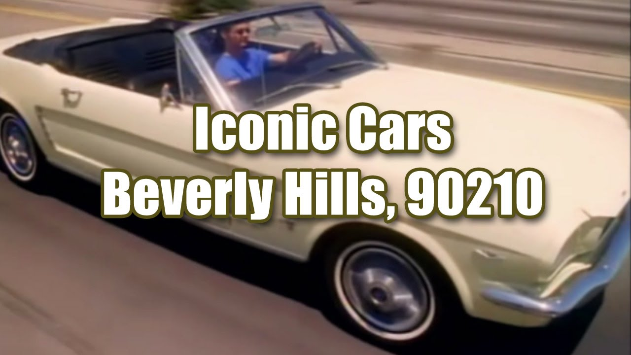 Beverly Hills 90210 Top 3 Iconic Cars