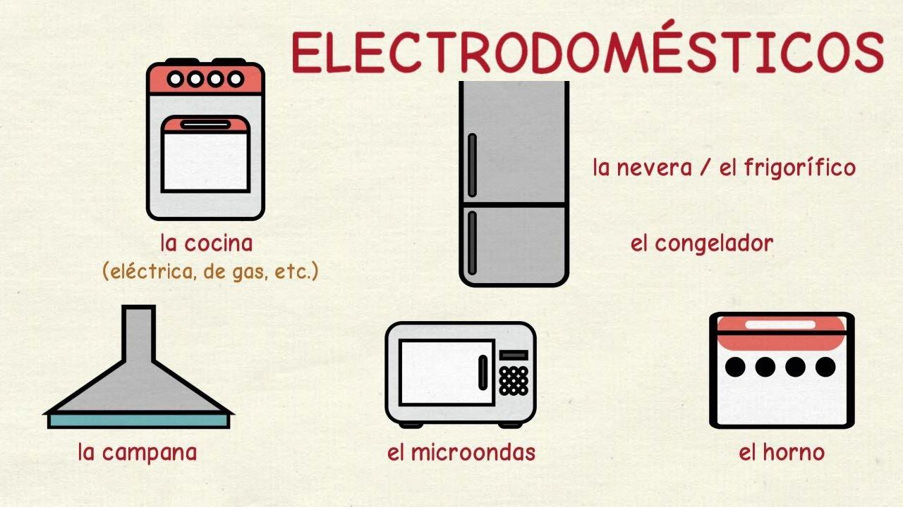 Aprender espa ol los electrodom sticos nivel intermedio - Lo ultimo en electrodomesticos ...