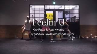 "周平 ""Feelin U/KickRaux & Ras Kwame""@En Dance Studio SHIBUYA SECOND"