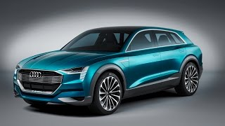 Audi E-Tron Quattro Concept Revealed At Frankfurt Iaa 2015