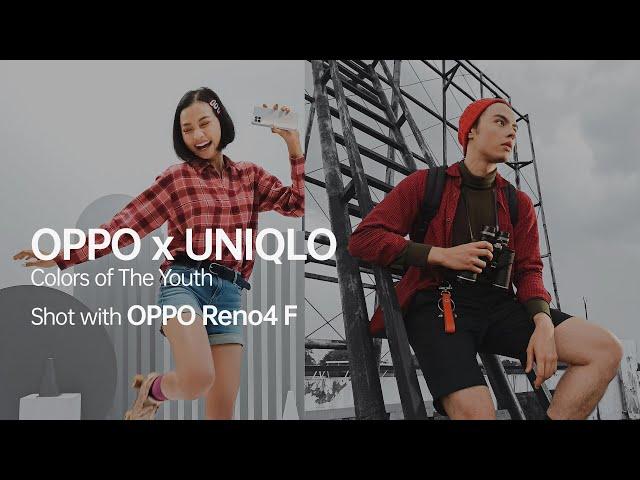 OPPO Reno4 F | OPPO x UNIQLO Behind-The-Scene
