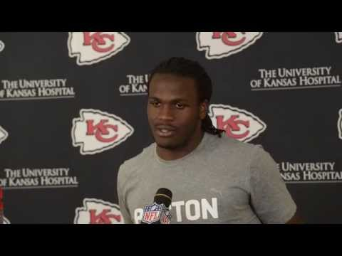 Chiefs Running Back Jamaal Charles Wants To Emulate Peyton Manning