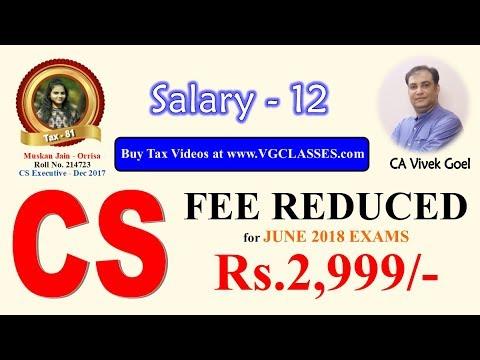 Salary Part 12 - Decuction u/s 16 (AY 17-18) by CA Vivek Goel for ...