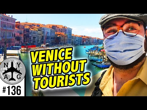 Walking Through Venice Italy Without Tourists