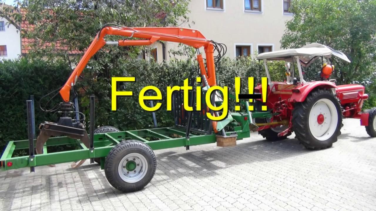 Kran eigenbau Eigenbau Diesel