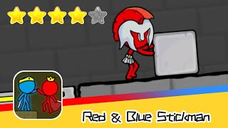 Red and Blue Stickman : Animation Parkour Day26 Walkthrough Recommend index four stars