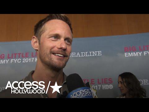 'Big Little Lies': Alexander Skarsgård On Getting An Emmy Nomination, His Dark Role