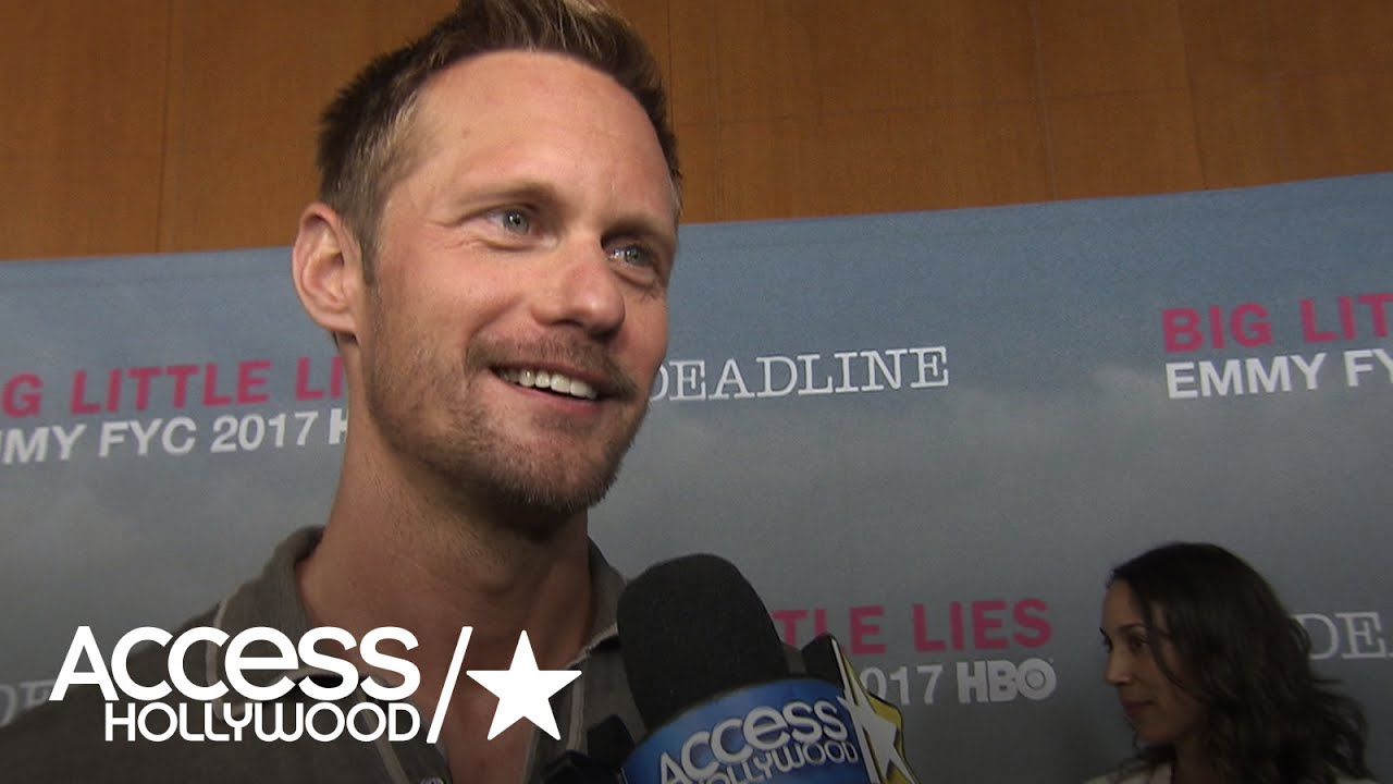 Alexander Skarsgard Teases a Season 2 Big Little Lies Comeback During The Globes