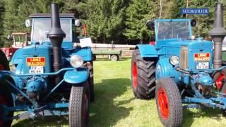 Großes Oldtimer-Treffen in Tennenbronn im Video