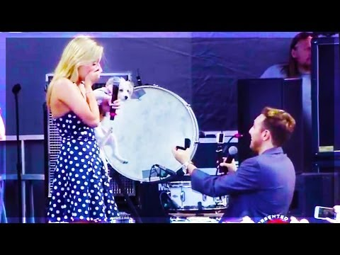 Surprise Concert Proposal (In Front Of 12,000 People) / bffTaylor and Kaleb Nation