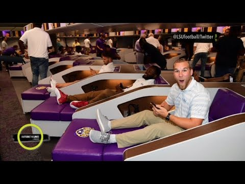 LSU Previews $28 Million Football Locker Room With Sleeping Pods | Outside The Lines