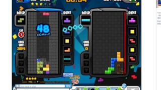 Tetris Battle: 105 combo - 626 lines - new Anniversary mode battle 2P II.