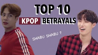 TOP 10 ANIME BETRAYALS *KPOP EDITION*