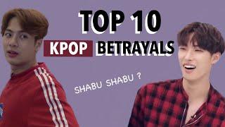 TOP 10 ANIME BETRAYALS *KPOP EDITION*