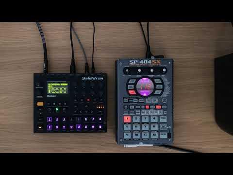 Elektron Digitakt & Roland Sp 404 SX Live Jam (House, Electronic)