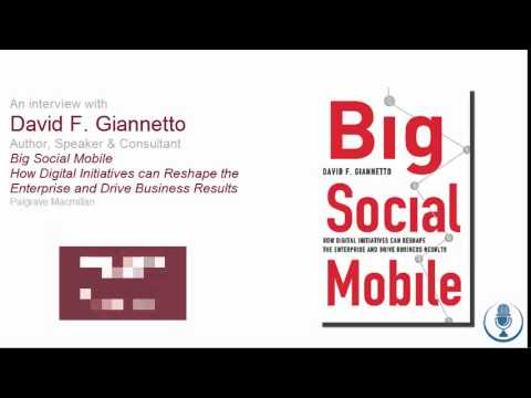 CFO Thought-Leader Interview with Big Social Mobile author David Giannetto