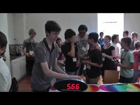 Rubik's cube solved in 5.66 seconds - Australian/Oceanic record