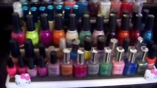 Nail polish collection & storage