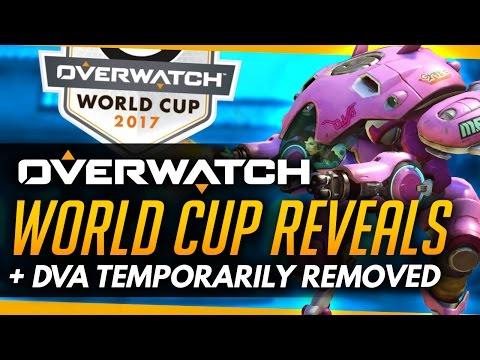 Overwatch | WORLD CUP REVEALS - DVA Temp Remove & More [Roundup]