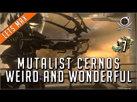 Mutalist Cernos - Weird And Wonderful Combine!! (7 Forma)   Warframe