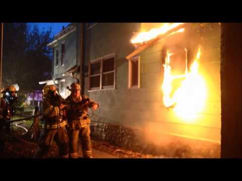 House Fire, W. Second St., Waterloo, Iowa, Oct. 20, 2016