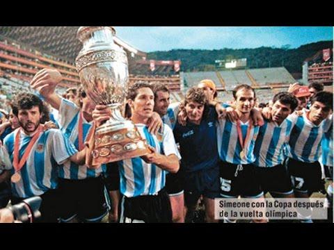 Final de la Copa América 1991 Argentina vs Colombia - YouTube