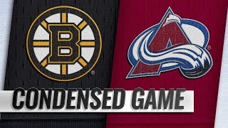 11/14/18 Condensed Game: Bruins @ Avalanche
