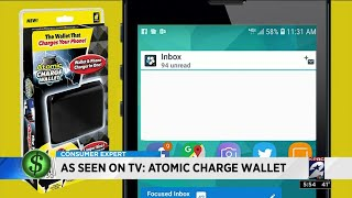 As Seen On TV: Atomic Charge Wallet