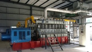 ettespower 1mw 2 500kw 8300 engine syngas biomass gasification power plant engine generation generat