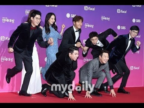 Running Man Funny At SBS Entertainment Award 2017 – Song Ji Hyo The Blue Mermaid