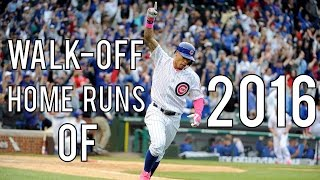 MLB | Walk-Off Home Runs of 2016